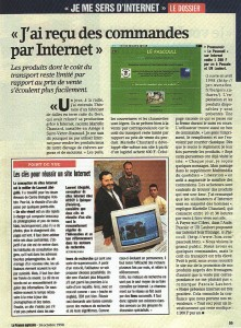 Article paru dans La France Agricole du 16 octobre 1998
