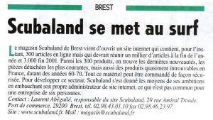Webmaster de Scubaland