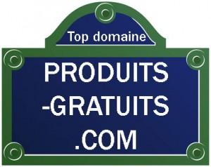 Domaine des produits gratuits en .com